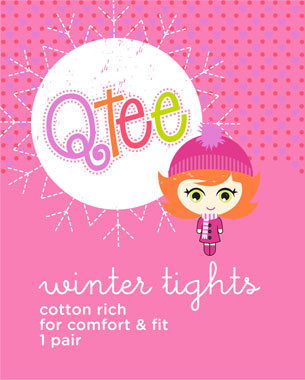 Ackermans Qtee is a bright and playful range of clothing that caters for girls between the ages of 4 and 7. In the redesign of the logotype and character we looked at developing a more versatile identity that was playful and interchangeable across the different product offerings.  Various characters were developed each with their own look, and were combined with a visual identity of patterns and a common circular device that was either a flower, a sun, a snowflake or a balloon. The logotype and positioning within the cirlcular shape remained constant with the character and patterns changing depending on the application.  c Birdesign 2013