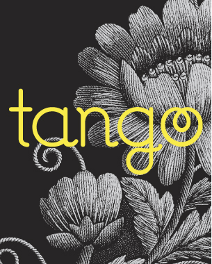 Tango is a range that is aimed at the 16 – 24 year old, and required a logo that appealed to this age group. The logo had to include a graphic device that could be recognised independently from the logo.